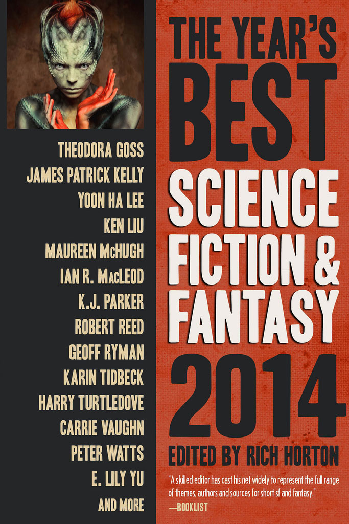 The Year's Best Science Fiction & Fantasy: 2014 edited by Rich Horton (E-book)
