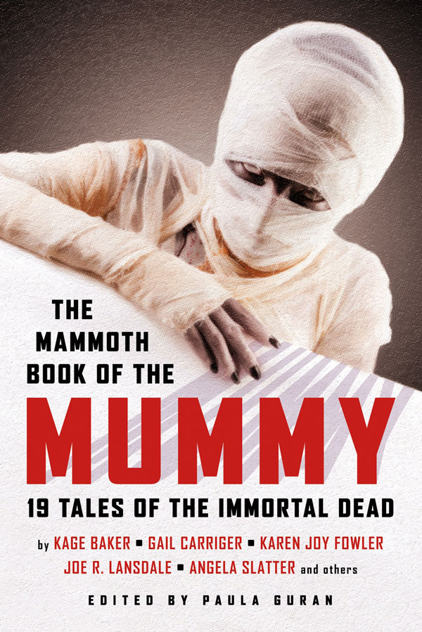 The Mammoth Book of the Mummy edited by Paula Guran